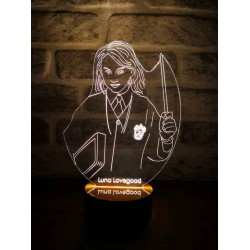 3D Harry Potter Luna Lovegood Lamba