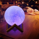 3D Moon Lamp 16 Renk